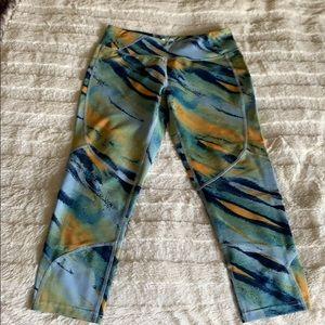 Oakley crop low rise leggings